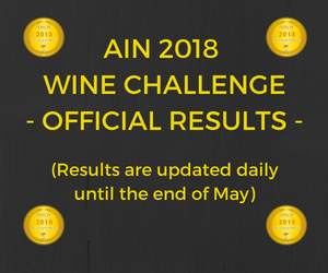 Results AIN wine challenge 2018