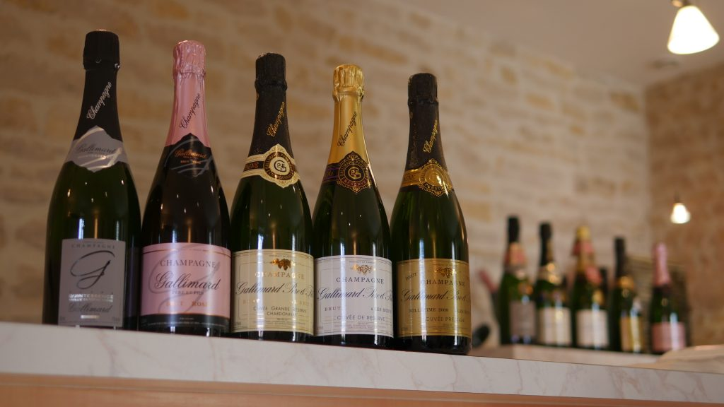 Champagne GALLIMARD - great variety