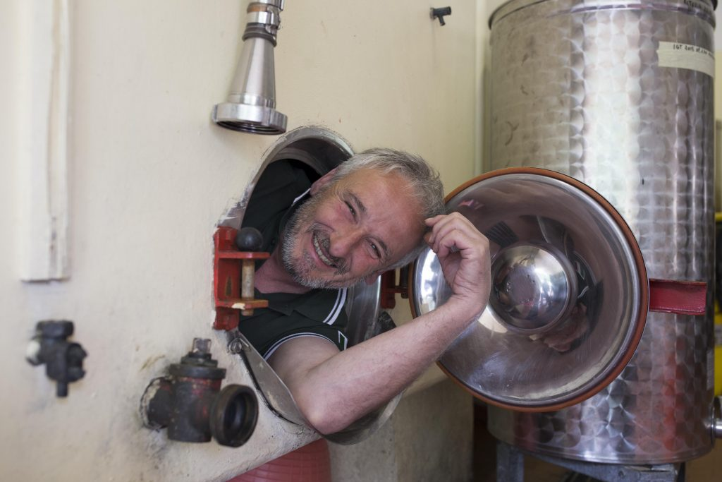 Andrea Rossi - Winemaker and Administrator