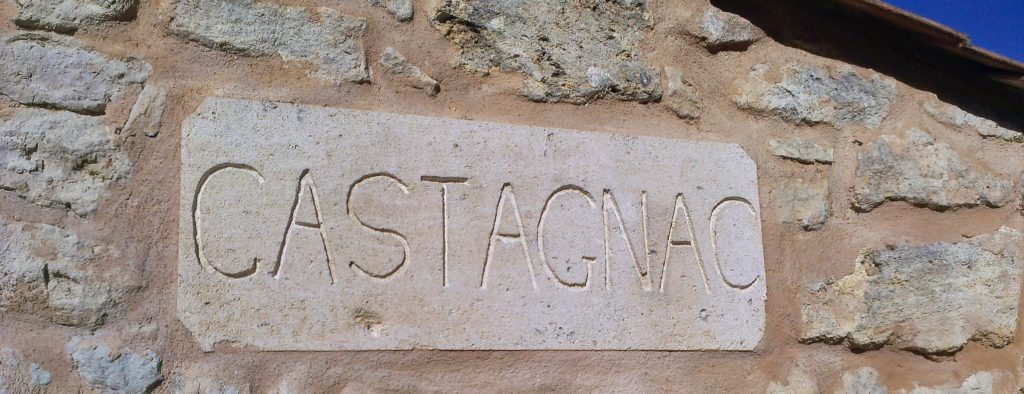 Château Castagnac The Name