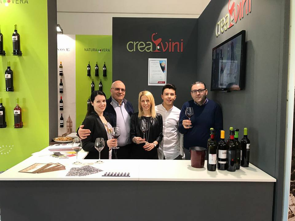 The CREA group in exhibition